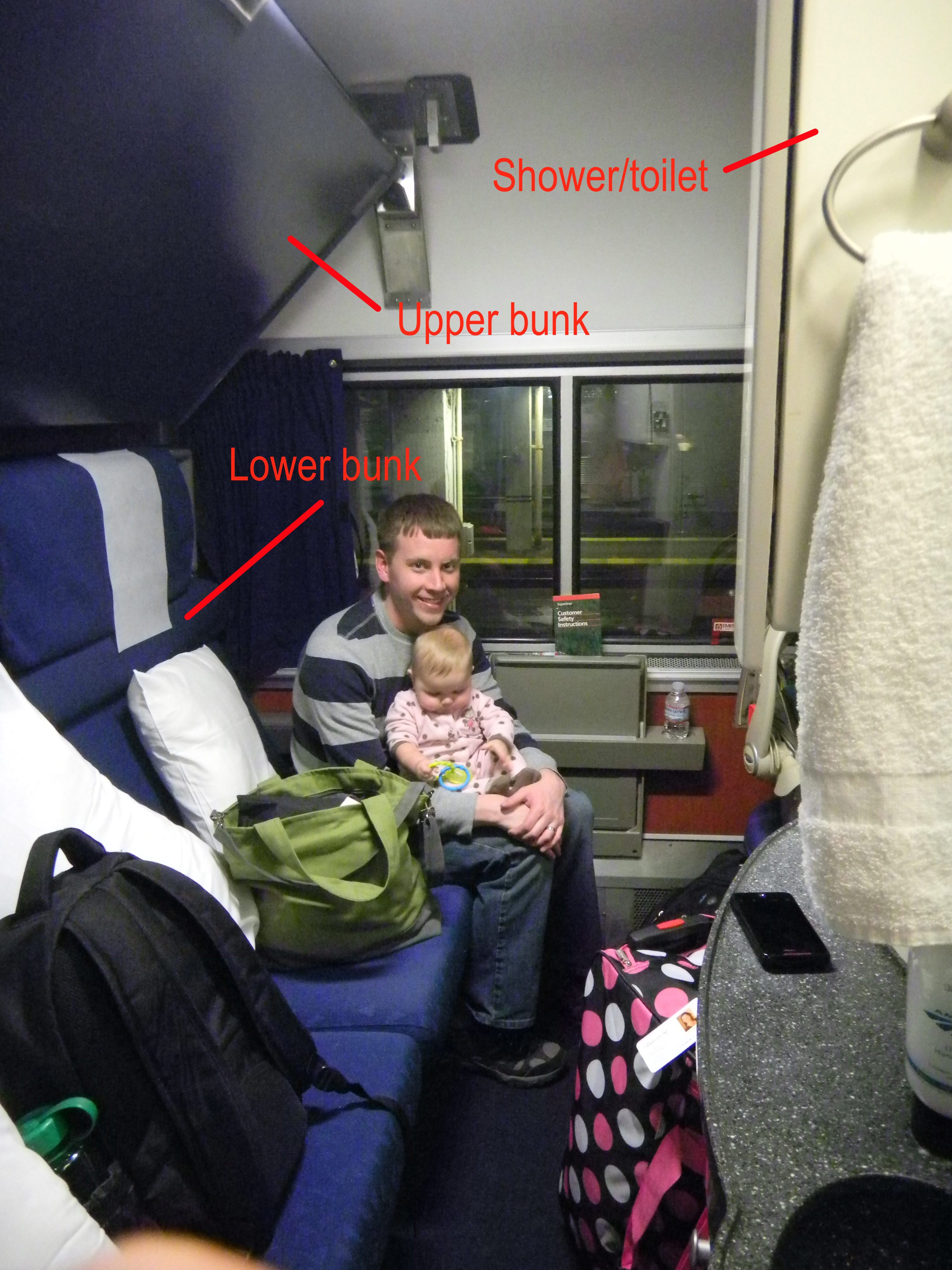 Amtrak Trains Sleeper Cars Two Different Sleeper Car